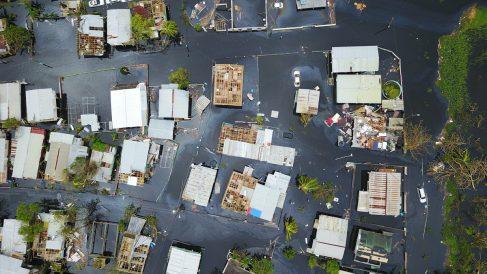 Puerto Rico tras el paso del huracán 'María'. (Foto: AFP)