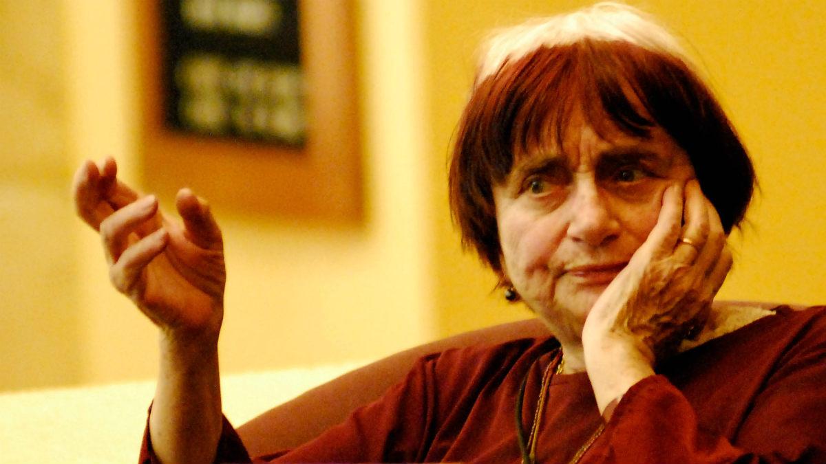 La cineasta belga Agnès Varda.