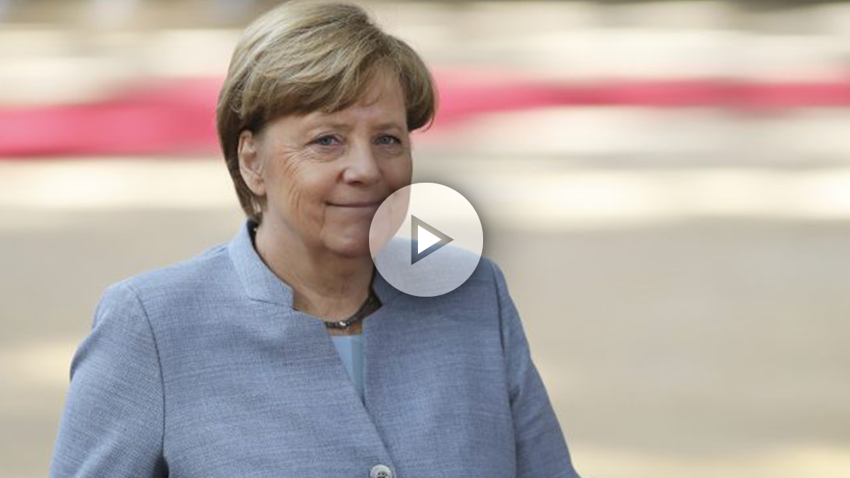 La canciller alemana, Angela Merkel. (Foto: Getty)