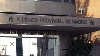 Sede de la Audiencia Provincial de Madrid, donde se celebra el juicio.