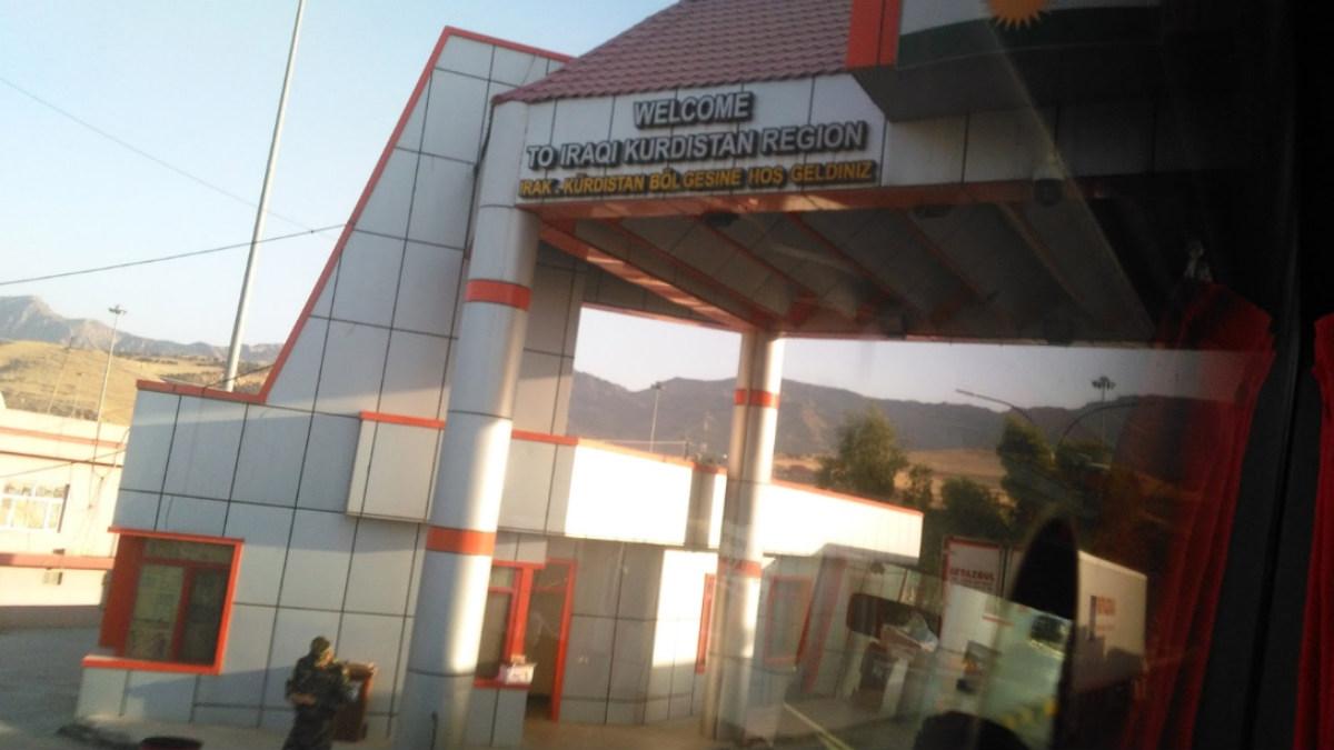 Paso fronterizo de Habur entre Turquía y la región autónoma iraquí del Kurdistán.