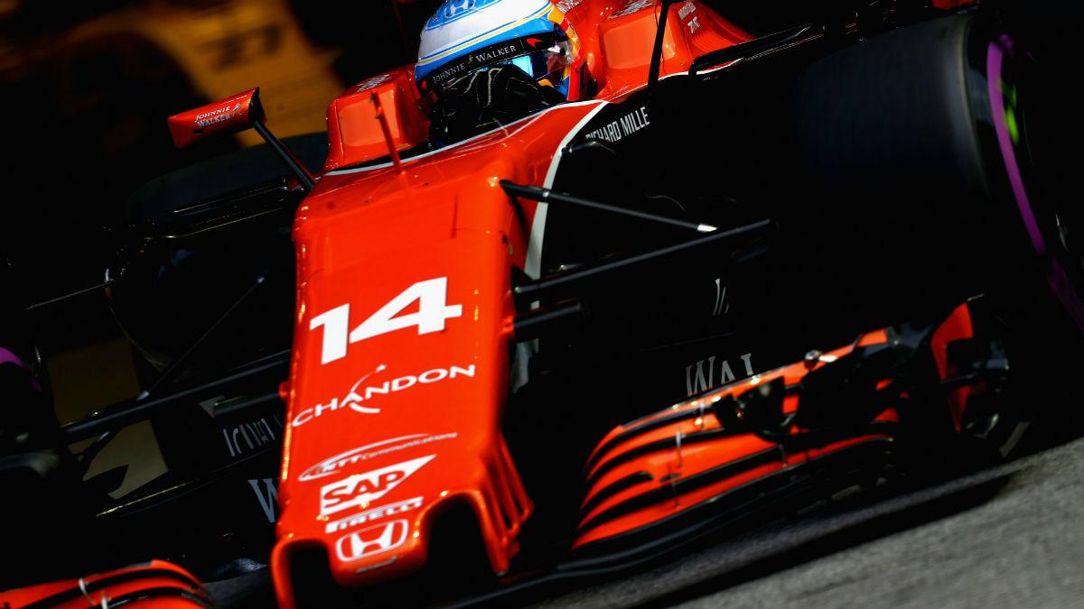 Honda ha asegurado que va a minimizar sus mejoras de aquí a final de año, con lo que McLaren ya sabe a lo que se atiene en las seis carreras que restan. (Getty)