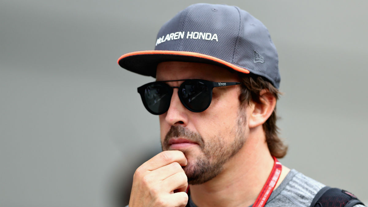 Fernando Alonso. (Getty)