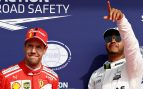 """Hamilton presiona a Vettel: """"Estoy agradecido de sus debilidades recientes"""""""