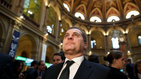 José Manuel Vargas, el día en que AENA salía a Bolsa, en febrero de 2015. (Getty)