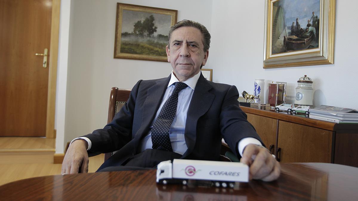 El presidente de Cofares, Juan Ignacio Güenechea. (Foto: Francisco Toledo)