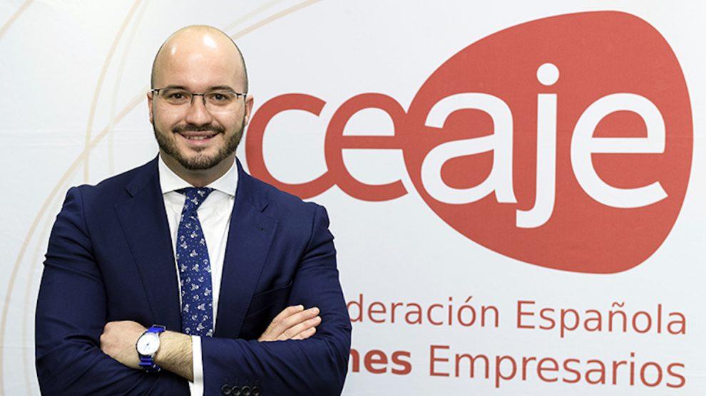 El presidente de Ceaje, Fermín Albaladejo.