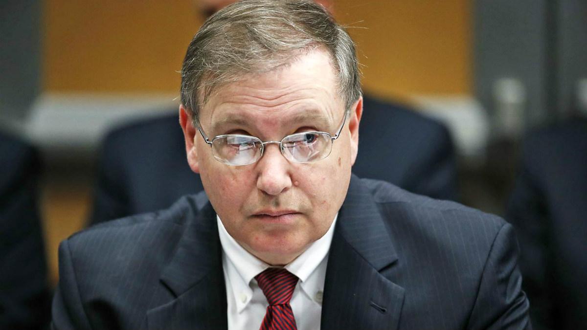 El dimitido jefe de la Agencia Antidroga de EEUU (DEA), Chuck Rosenberg.