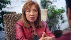 Dolores Asenjo, ex directora del Instituto Pedraforca de L'Hospitalet, que noentregó las llaves para el 'referéndum de cartón' del 9N de 2014.