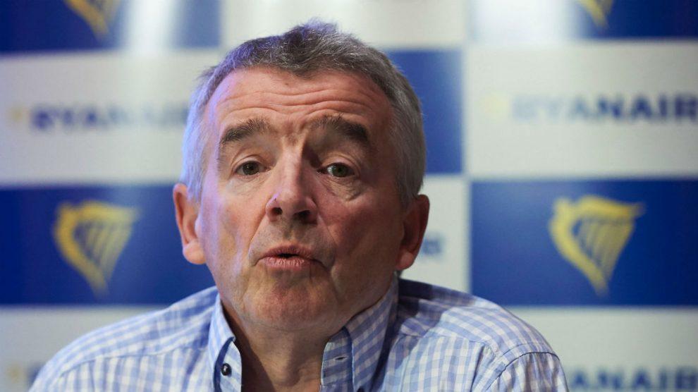 El CEO de Ryanair, Michael O'Leary  (Foto:Getty)