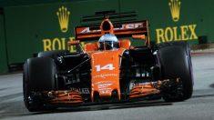 McLaren espera un fin de semana complicado en Malasia, ya que el trazado de Sepang no se adapta tan bien al MCL32 como el de Marina Bay. (Getty)