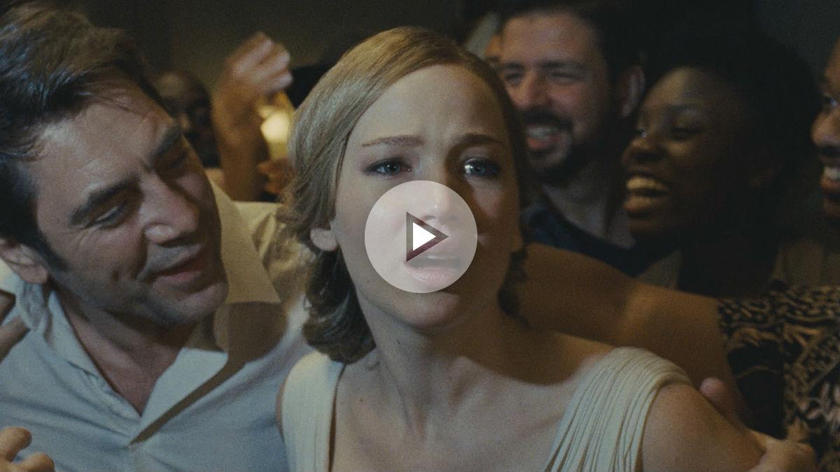 Jennifer Lawrence y Javier Bardem en la nueva cinta de Darren Aronosfky 'Mother!'