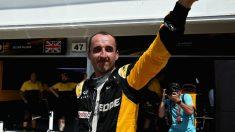 Robert Kubica se muestra convencido de sus posiblidades de volver a la Fórmula 1 tras los test realizados con el equipo Renault. (Getty)
