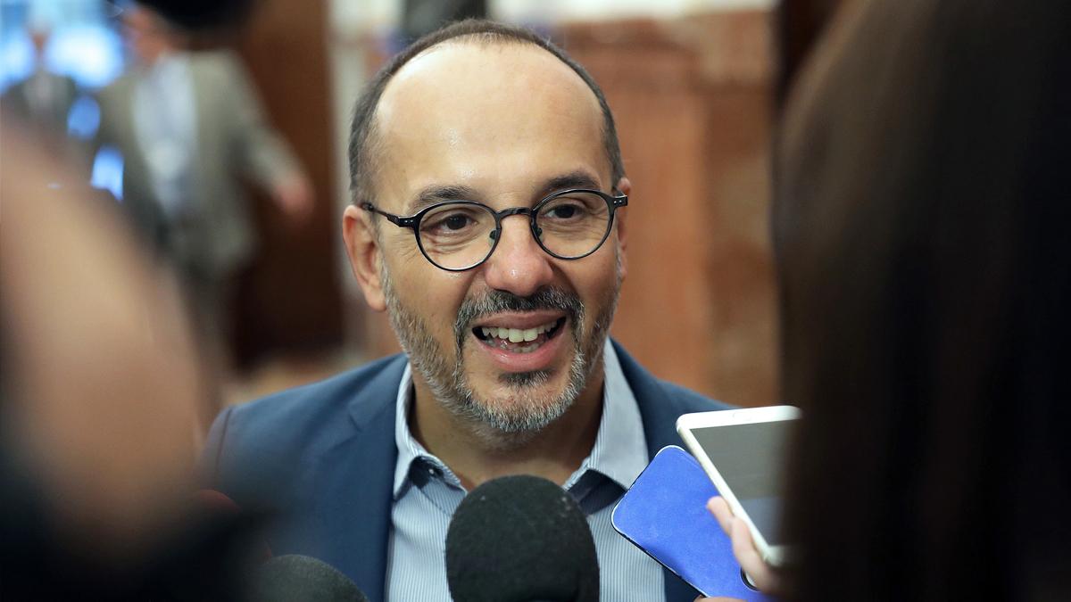 Carles Campuzano, ex portavoz del PDeCAT en el Congreso. (Foto: EFE)