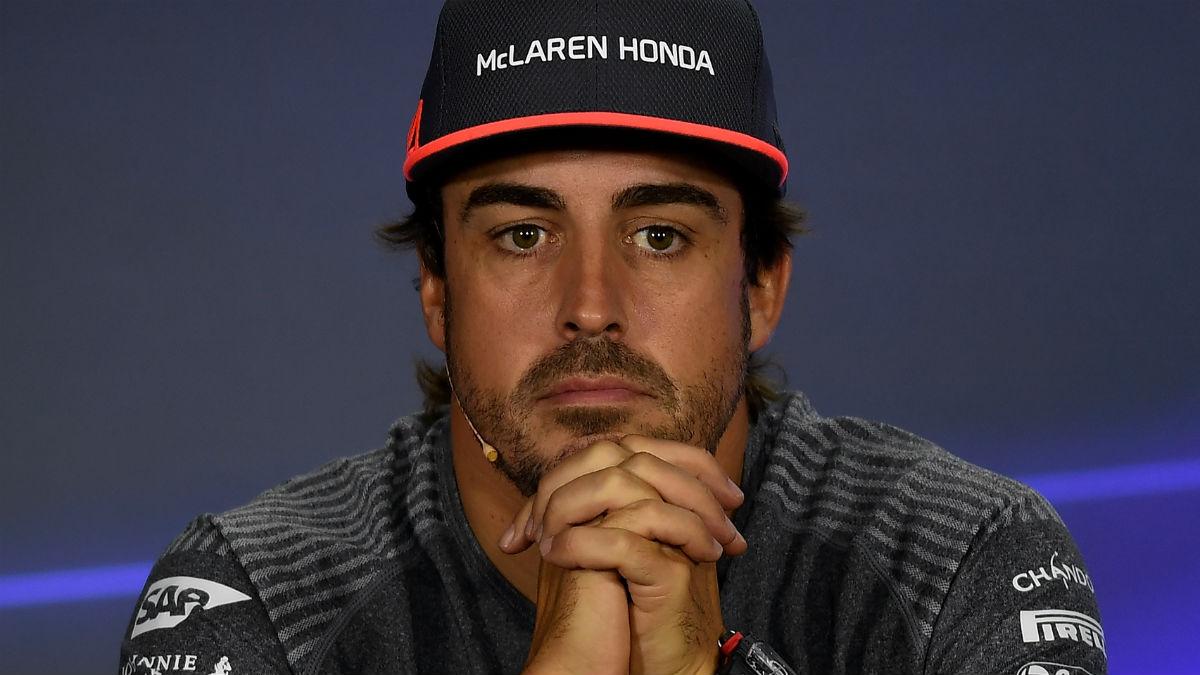 Fernando Alonso ha dado una pista sobre su futuro hablando de la temporada que viene como si fuese ya miembro de McLaren durante la misma. (Getty)