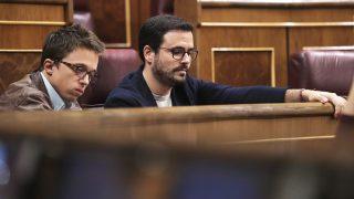 Íñigo Errejón y Alberto Garzón. (Foto: EFE)