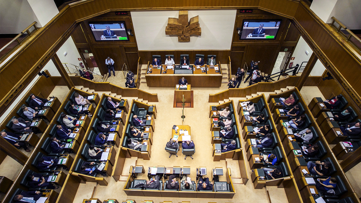Parlamento Vasco. (Foto: EFE)
