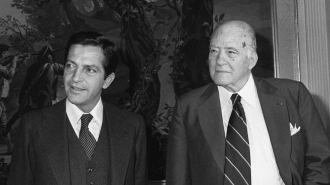 Josep Tarradellas, primer presidente de la Generalitat de la democracia
