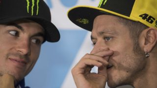 Desde Yamaha han confirmado que no le pedirán a Valentino Rossi que ayude a Maverick Viñales a convertirse en campeón del mundo esta temporada. (Getty)