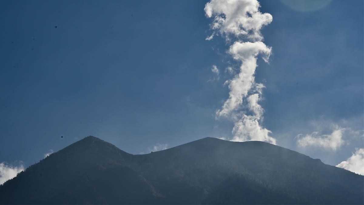 Monte Agung. (Foto: AFP)