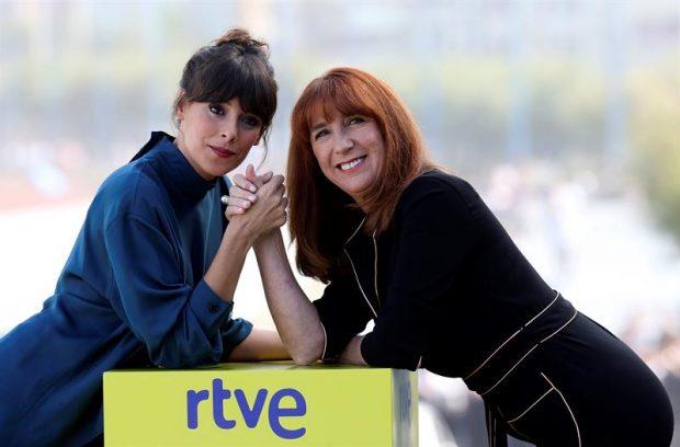 Belén Cuesta y Gracia Olayo. Foto: EFE