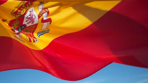 Bandera de España. (Foto: AFP)