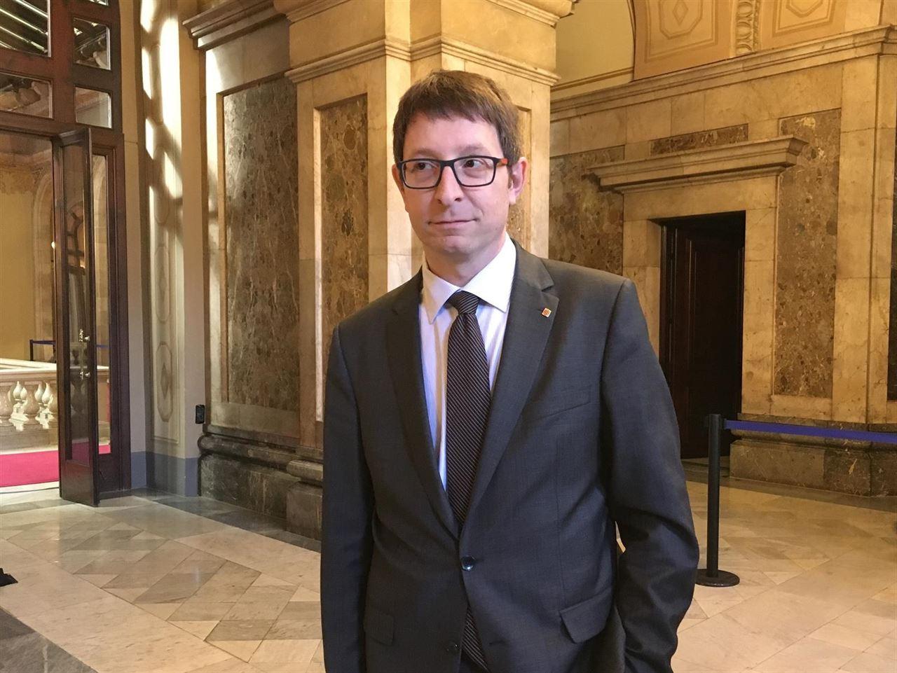 El ex conseller de Justicia de la Generalitat Carles Mundó.