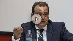 El exfiscal, Pedro Horrach, en la jornada universitaria «Delincuencia económica y corrupción».