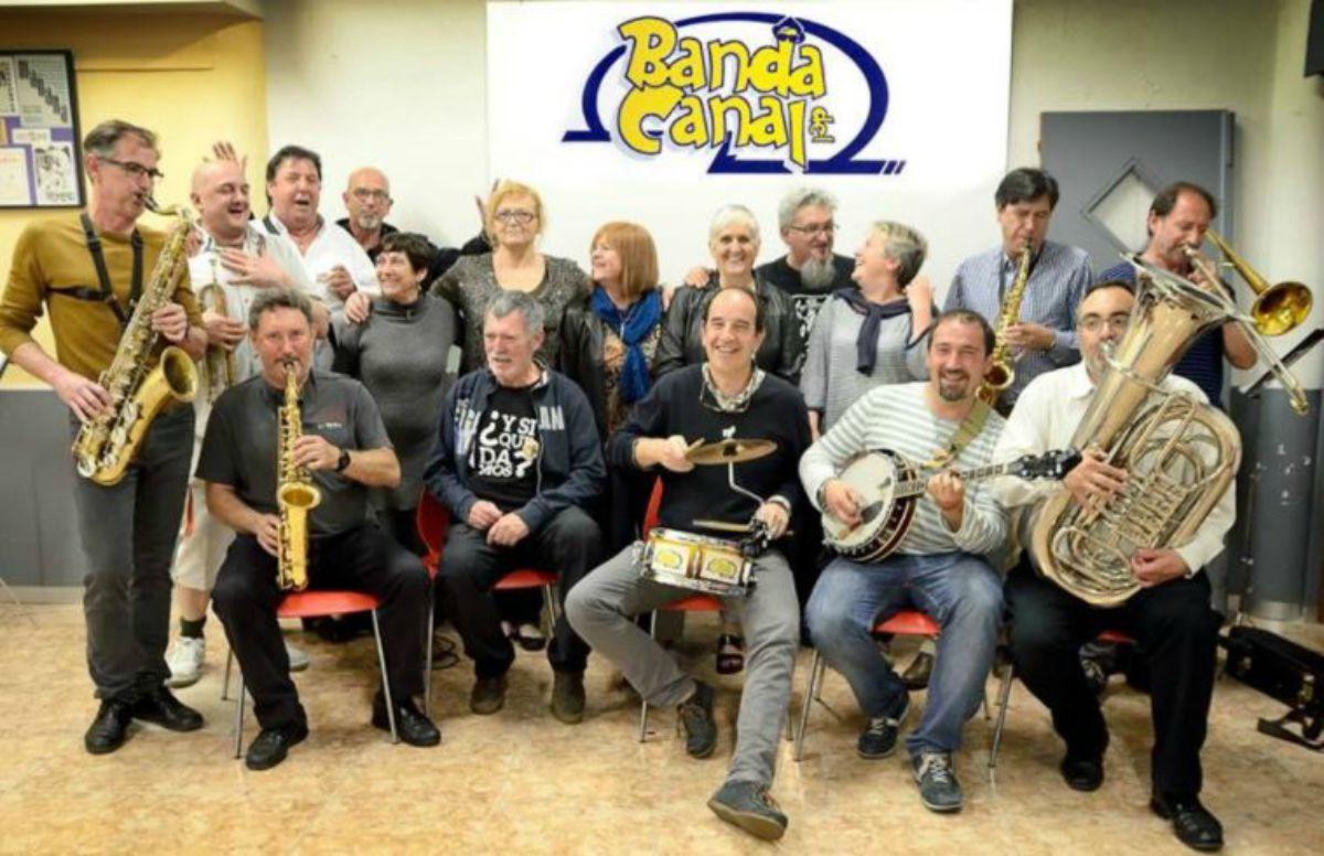 Banda del Canal en las Fiestas del Pilar 2017