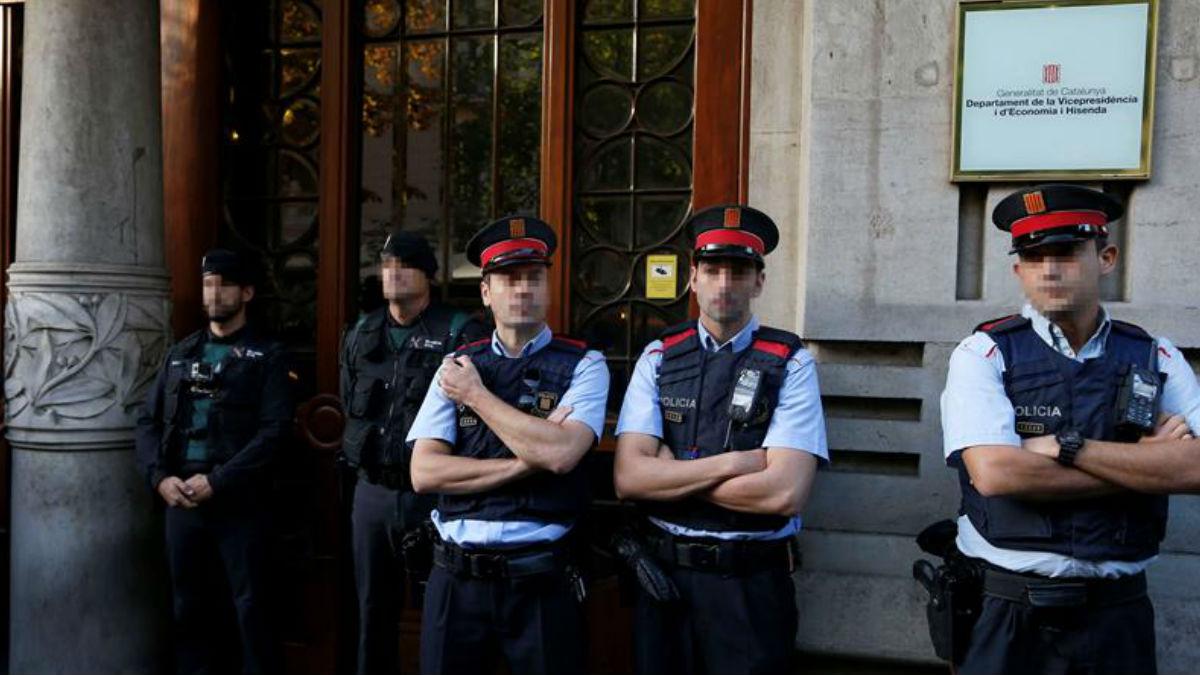Mossos d'Esquadra. (Foto: EFE)