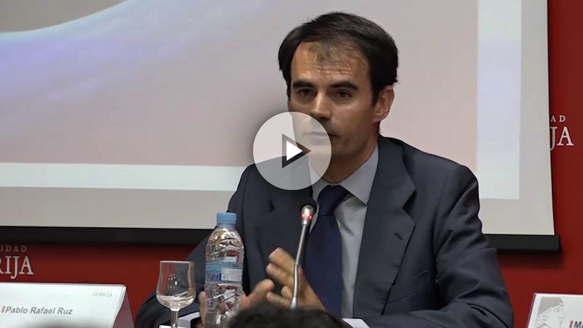 El juez Pablo Ruz en la jornada universitaria «Delincuencia económica y corrupción».