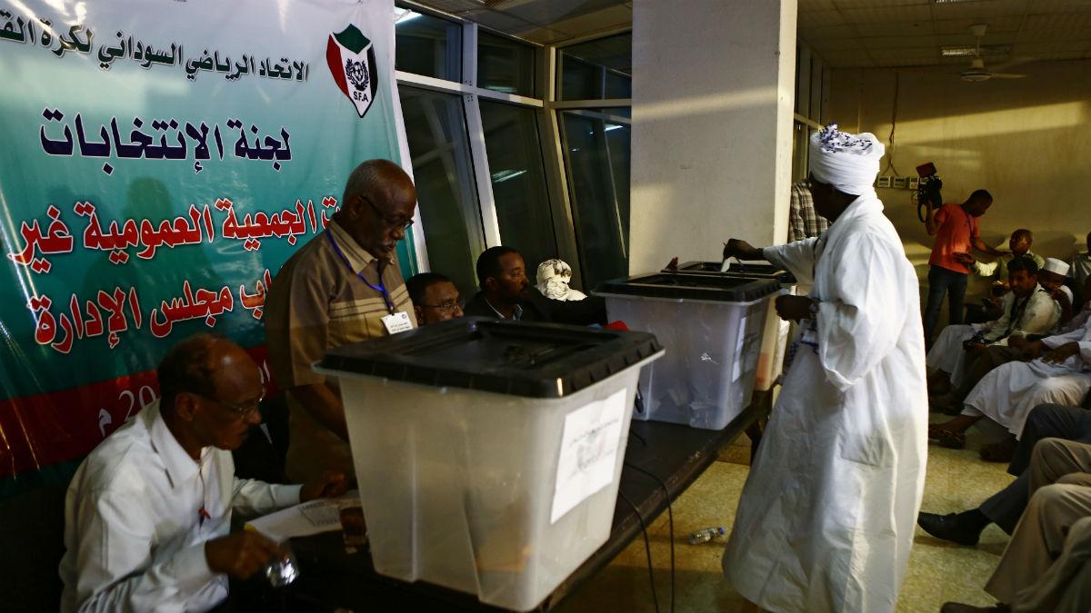 Elecciones de abril de 2017 en Sudán del Sur (Foto: AFP)