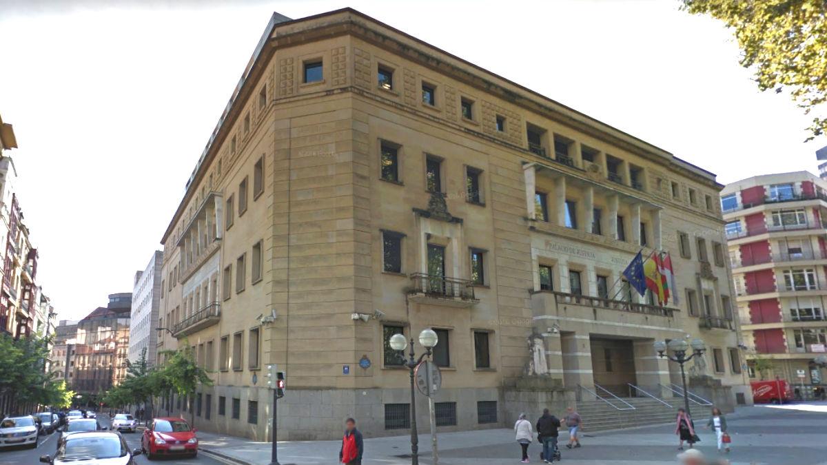 Sede del TSJPV en Bilbao.