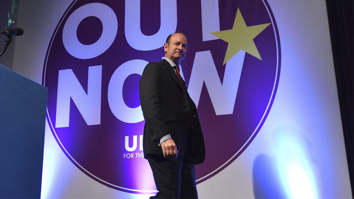 Henry Bolton, nuevo líder del UKIP (Foto: AFP)