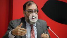 El juez de la Audiencia Nacional, Eloy Velasco, en la jornada universitaria «Delincuencia económica y corrupción».