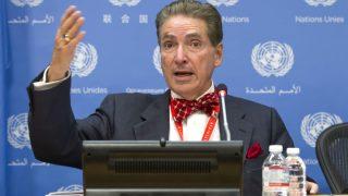 """El """"experto independiente"""" de la ONU Alfred de Zayas."""