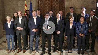 DECLARACIÓN DEL PRESIDENT CARLES PUIGDEMONT