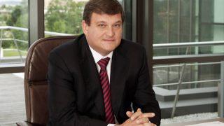 El presidente de Duro Felguera, Antonio del Valle.