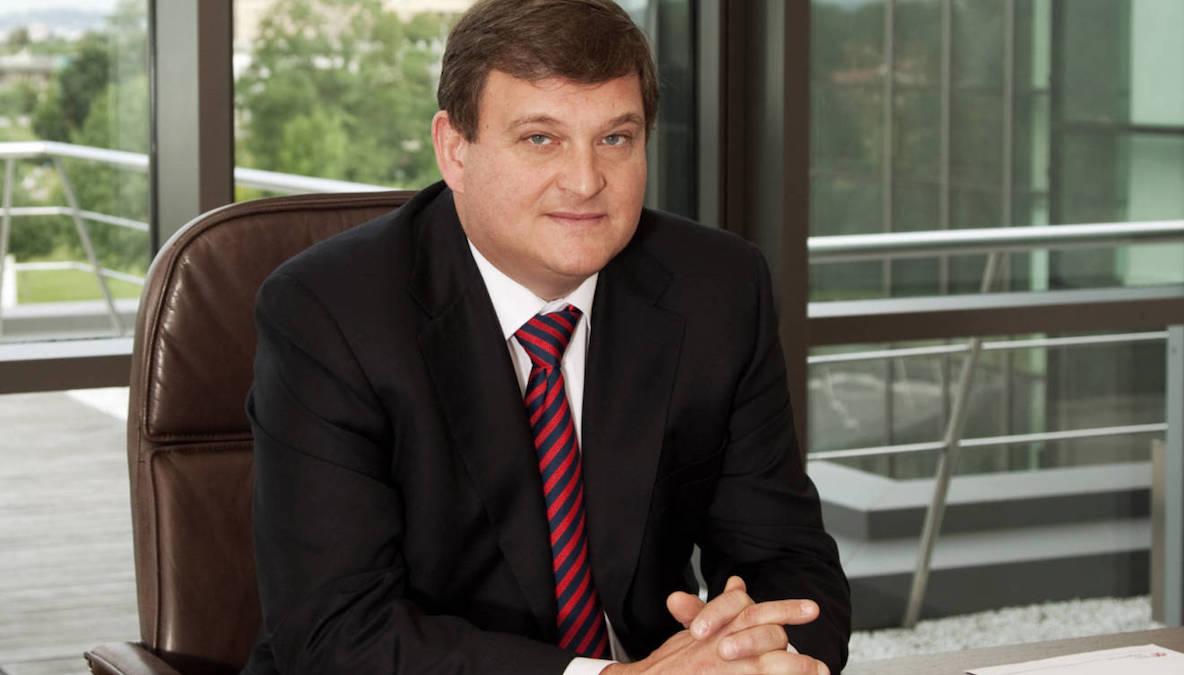 El expresidente de Duro Felguera, Antonio del Valle.