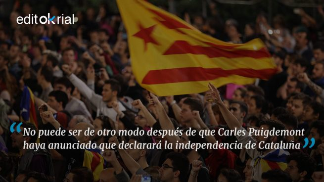 El diálogo con Puigdemont debe ser aplicar el 155