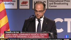 El exportavoz del Govern de la Generalitat, Jordi Turull.