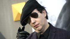 Marilyn Manson en una reciente imagen (Foto: AFP).