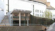 Fachada del Palacio de Justicia de Lérida.