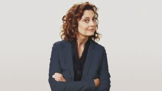 La actriz Susan Sarandon.