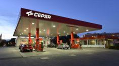 Gasolinera de Cepsa.