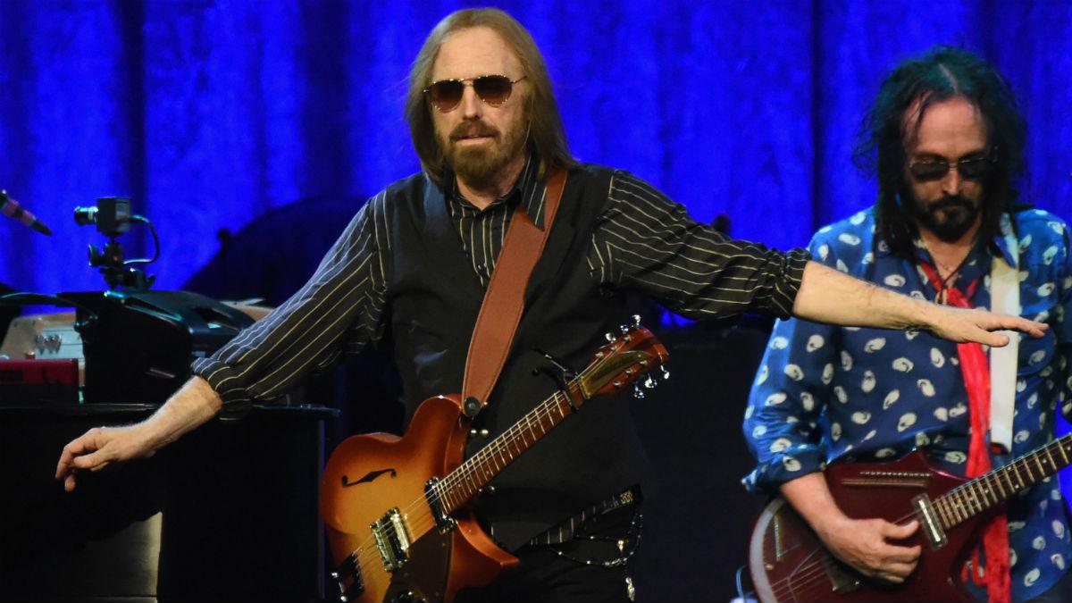 Tom Petty durante una actuación (Foto: AFP)