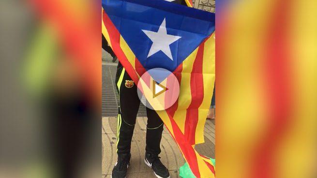 e6d8df12f259b Imposible comprar una bandera de España en Barcelona  los comerciantes  tienen