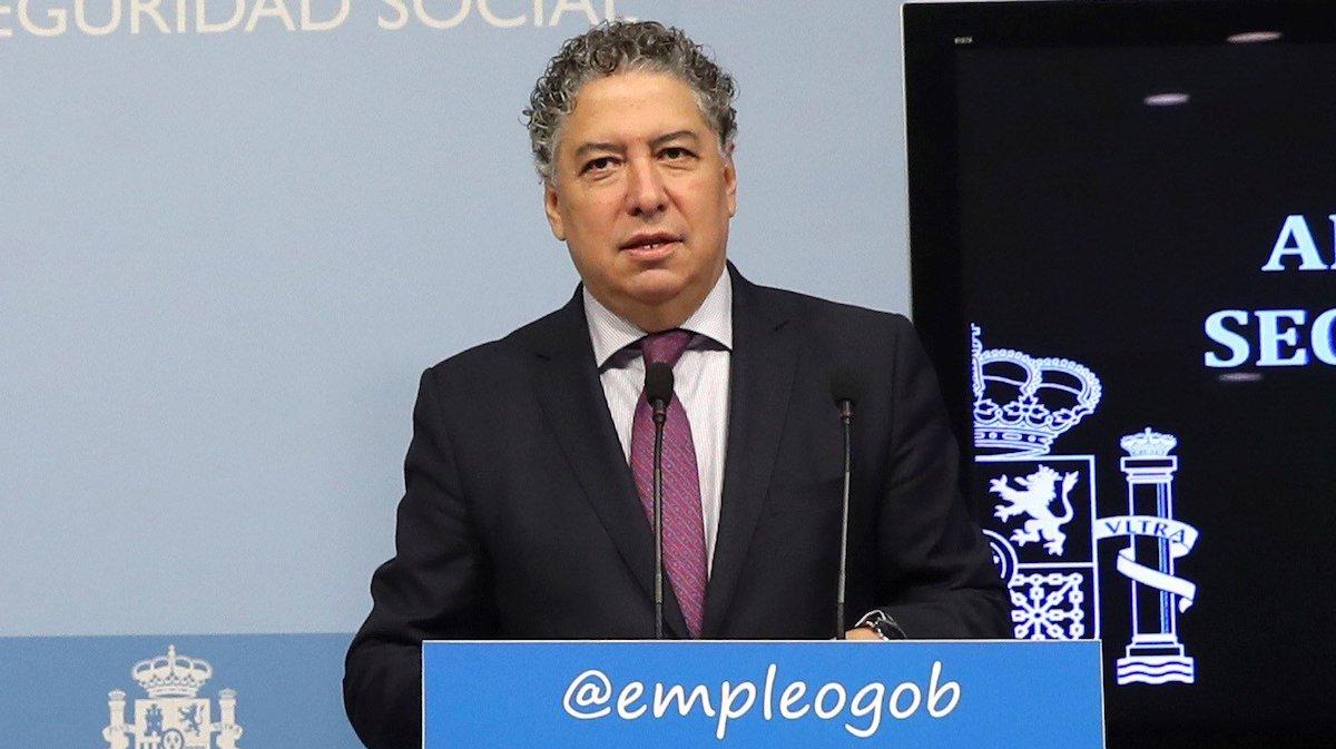 El secretario de Estado de la Seguridad Social, Tomás Burgos. (Foto: EFE)