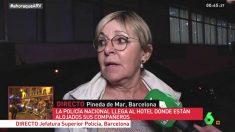 La teniente de alcalde del PSC de Pineda de Mar, Carme Aragonés