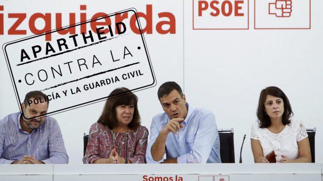 Silencio en Ferraz ante la expulsión de la Guardia Civil de Pineda, gobernado por alcalde del PSC